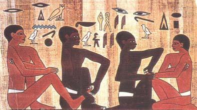 Zoneterapi i oldtidens Ægypten